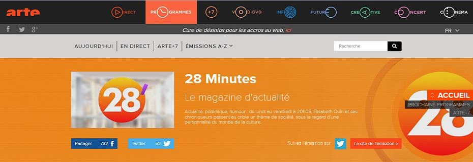 Arte Television 28 Minutes